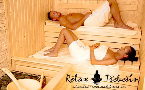 Soukromý pronájem sauny pro 2 osoby