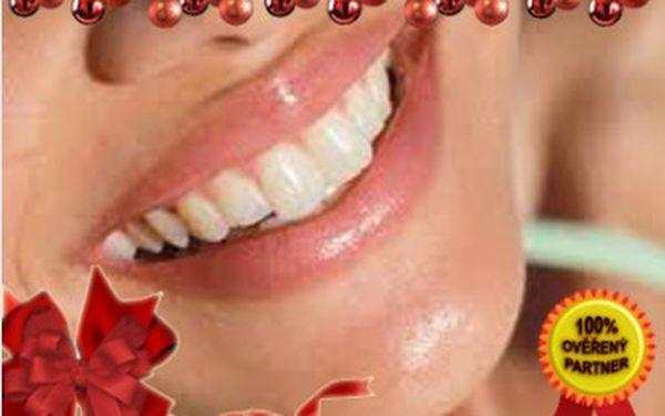 Bělení zubů za 360 Kč ve Studiu EstheticForYou v centru u Nového Smíchova u Anděla, Darujte k Vánocům okouzlující úsměv, který je základem osobního kontaktu.