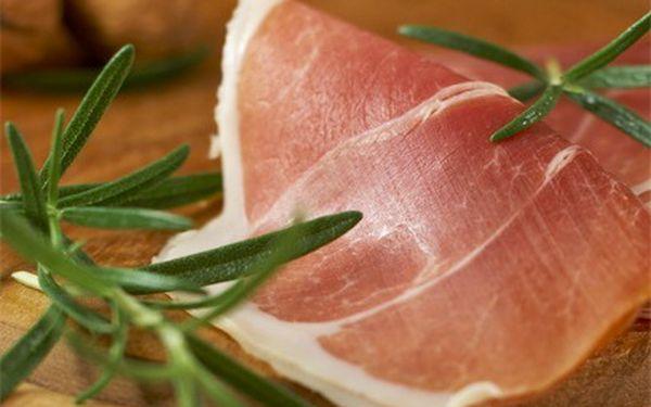 Italská šunka prosciutto crudo za 270 Kč!