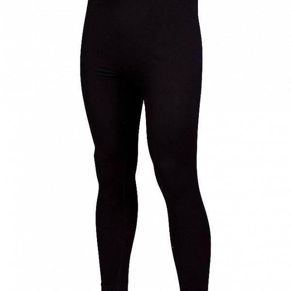 Pánské černé bezešvé podvlékací kalhoty Envy