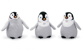 Happy Feet - plyšový hrdina. Figurky tučnáků ze známého animovaného filmu.