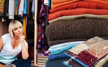 Vakuové pytle! Máte moc oblečení a málo místa? Pomůžou vacuové pytle!