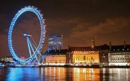 LETECKÝ EUROVÍKEND: Velká Británie - Londýn – perla na řece Temži – 3 dny / 2 noci za 7.590,- Kč. Nyní stačí záloha 4.000,- Kč