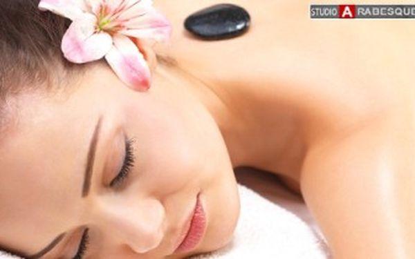 Pouhých 249 Kč za 45minutovou masáž LÁVOVÝMI KAMENY! Dokonalé uvolnění ve Studiu Arabesque.