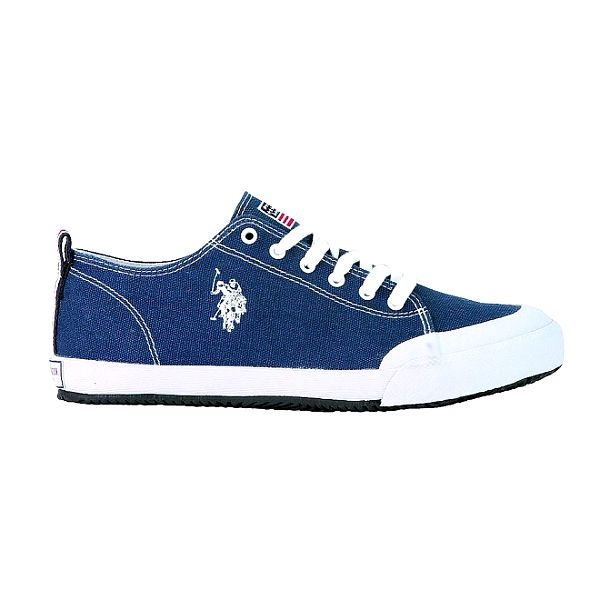 Pánské modré plátěné tenisky U.S. Polo