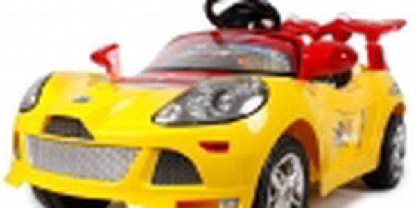 Elektrické autíčko - Tornádo Cabrio