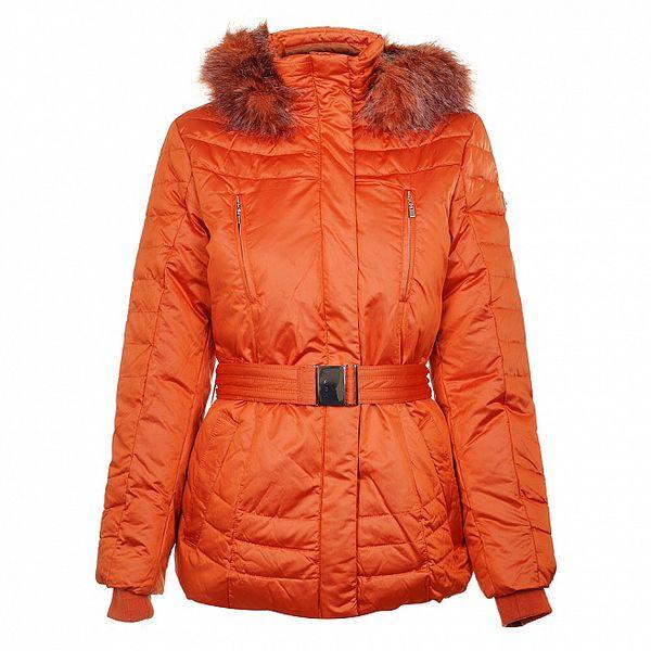 Dámská oranžová péřová bunda Northland
