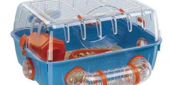 Plastový, prostorný box pro křečky a malé, drobné hlodavce Ferplast Combi 1