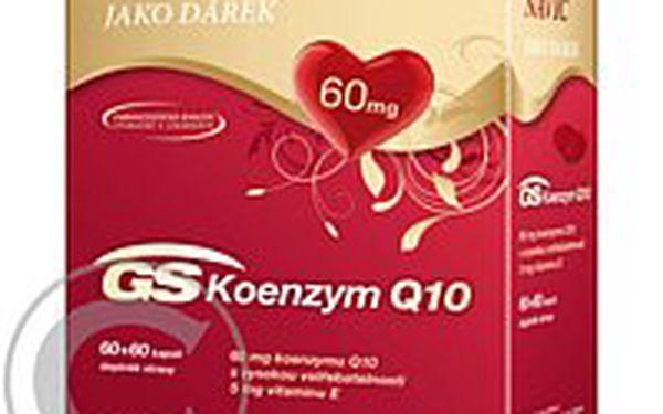 Oceňovaný a účinný GS Koenzym Q10 60 mg 60+ 60 cps.ZDARMA