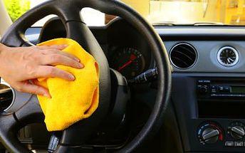 Čištění vozu! Profesionální péče o váš vůz s možností doplnění klimatizace a výměny oleje ZDARMA!