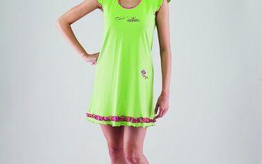 Luxusní dámské pyžamo Vamp v zelené barvě