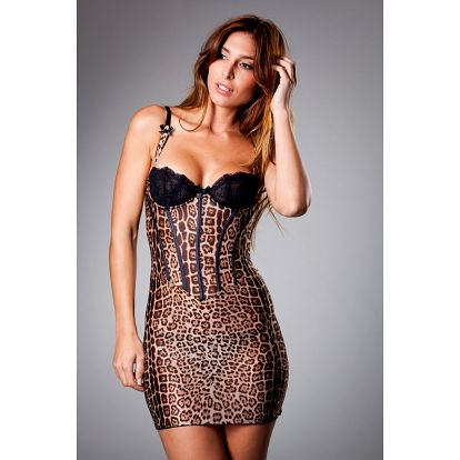 Dámská hnědá leopardí košilka Roberto Cavalli