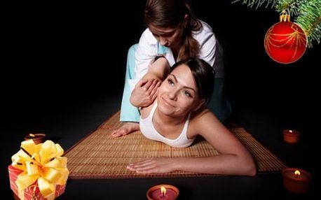 Tradiční Thajská masáž zad, šíje a nohou. Jedna z nejžádanějších masáží s pozitivním vlivem na celý organizmus