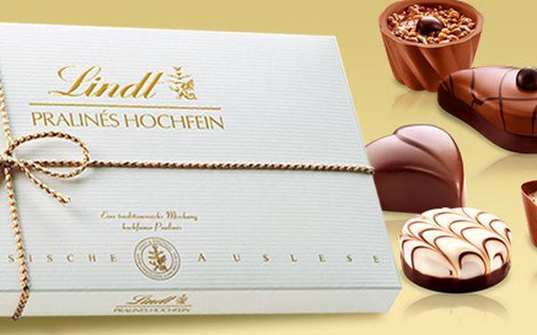 Výtečné čokoládové pralinky Lindt Hochfein Pralinés