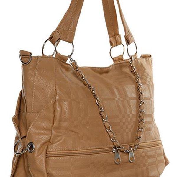 Dámská kabelka krémová
