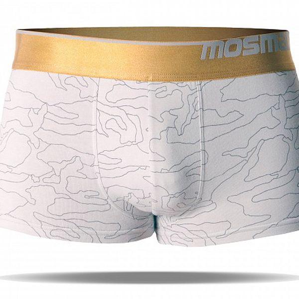 Pánské boxerky s nohavičkou značky Mosmann z edice Gold