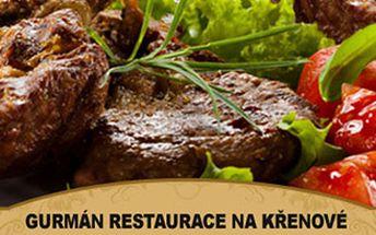 Silvestrovská párty s vynikajícím jídlem a hudebním doprovodem DJ Michala v restauraci Gurmán.