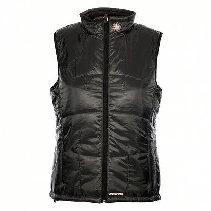 Dámská tmavě šedá prošívaná vesta Alpine Pro