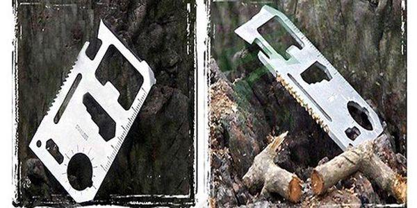 Karta přežití - survival card!! Skvělý pomocník pro každého!!