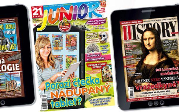 Půlroční předplatné časopisu 21. Století Junior