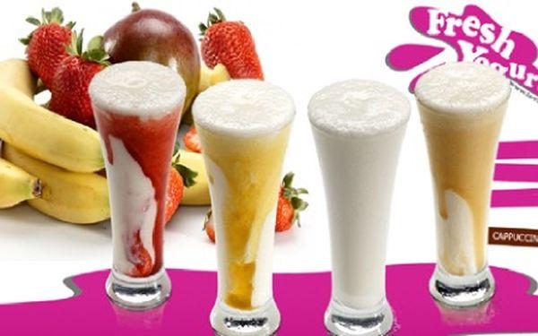 2 x pravá horká desertní čokoláda či osvěžující jogurtové nápoje jen za 55,-