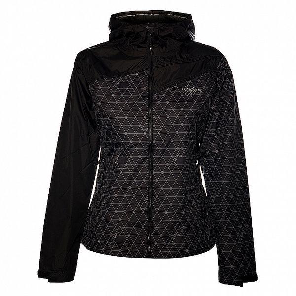 Dámská černá bunda Loap s šedými detaily