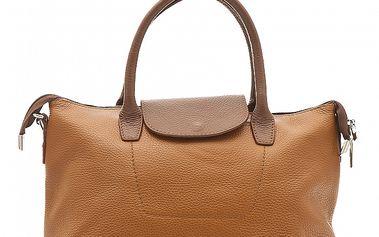 Elegantní dámská kabelka Shambala v karamelově hnědé barvě