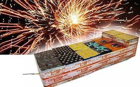 Silvestrovský ohňostroj! 228 ran, délka trvání až 180 sekund. Oslavte Nový rok!