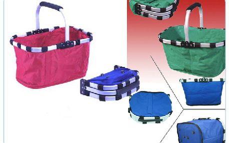 Folded Basket – geniální skládací koš, který je kdykoli připraven Vám pomoci s nákupem, odnosem či ...