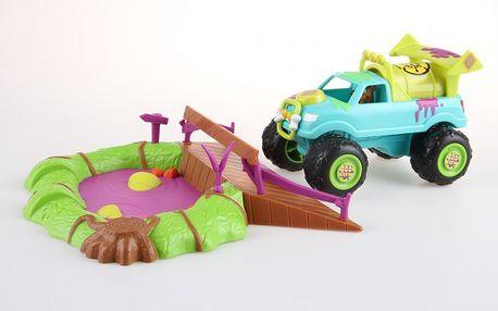 Scooby Doo set s bažinou a terénním autem