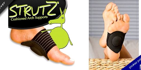 Podpora pro klenbu nohou STRUTZ je určený pro redukci zátěže a tlaku aktivně a pravidelně namáhaných kloubů a zmírňuje bolest! Je vyroben z anti-bakteriální impregnované textilie! Sleva 27%!!!
