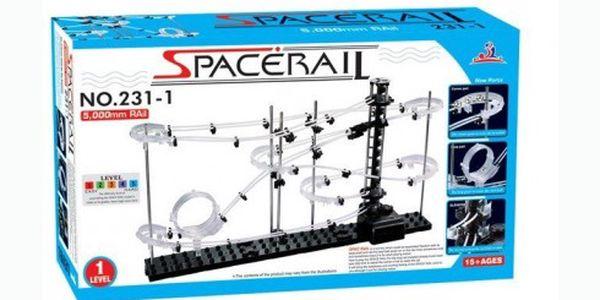 Stavebnice SPACERAIL level 1 jen za 289 Kč! Vhodné pro začátečníky, děti i dospělé. Skvělá zábava pro celou rodinu.