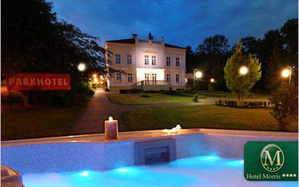 Přepychová romantika pro dva. 3 dny v hotelu Morris Nový Bor.