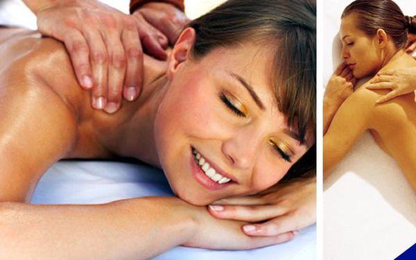 Zrelaxujte dle Vašeho přání - vyberte si sami tu svou masáž- Úžasnámasáž s vůní růže(šíje, záda a ramena),masáž šíje a zad s vůní dálekolejem Monoi de Tahiti, luxusnívanilková masáž(šíje a záda),masáž šíje, zad a ramen s vůní jahůdekza jednotnou cenu se slevou 62%!!! Udělejte si radost nebo překvapte své milé pod vánočním stromečkem.
