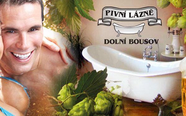 Blahodárný relax v Pivních lázních Dolní Bousov - ubytování pro 2 osoby na 1 noc!