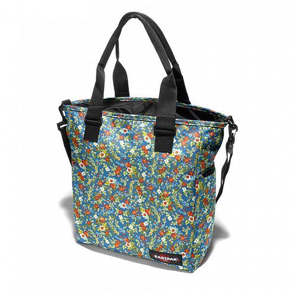 Dámská taška Eastpak s pestrobarevným kytičkovaným potiskem