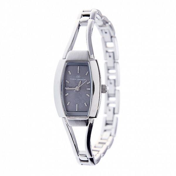 Dámské ocelové hodinky Tom Tailor s šedivým ciferníkem