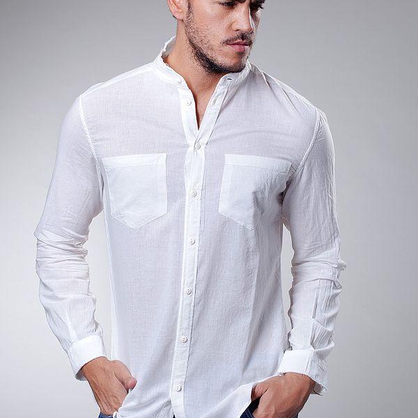 Pánská bílá košile Dolce & Gabbana