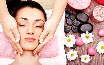 Antistresová masáž hlavy, krku a dekoltu