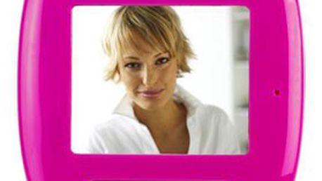 """Videozáznamník Inteso VIDDY 1.8"""" s integrovanou kamerou a displejem v barvě růžové nebo černé! Vaše vzkazy předá s jistotou"""