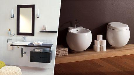 """Luxusné zariadenie pre vašu kúpeľňu. Široký sortiment štýlových """"kúskov"""" pre dokonalý komfort."""