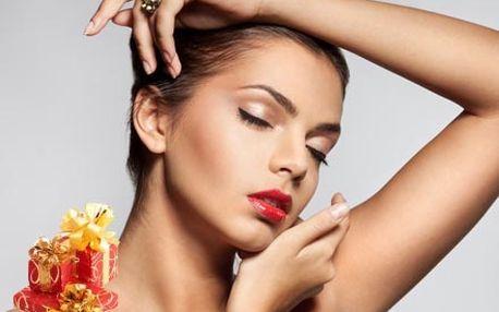 Luxusní balíček kosmetických služeb, včetně hloubkového čištění, liftingu, zapracování ampule a masky.