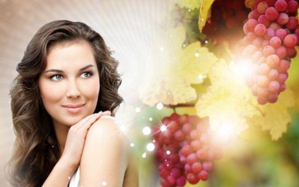 Až 120 minutové luxusní kosmetické ošetření pleti s vinnou révou a mikromasáží očního okolí za báječných 499 Kč! Zpomalte stárnutí pokožky a zredukujte váčky pod očima s jedinečnou slevou 55%!