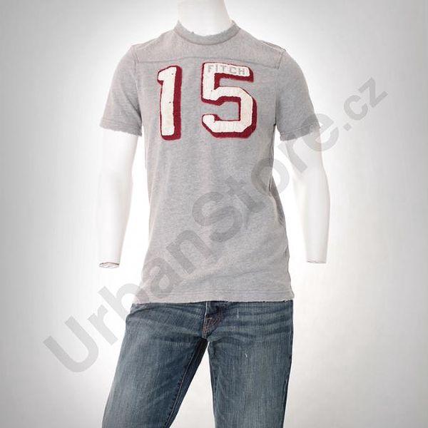 Tričko A&F T-Shirt_Grey