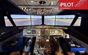 Letecký simulátor! Vyzkoušejte si pilotovat Airbus A320 a odstraňte svůj strach z létání!