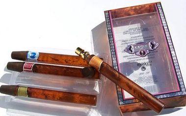 129 Kč za dárkové balení čtyř kusů pánských parfémů ve tvaru doutníku pro opravdové muže!!