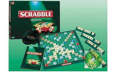 Společenská hra SCRABBLE! Rozšiřuje slovní zásobu, procvičuje paměť a BAVÍ CELOU RODINU! Ideální i pro milovníky křížovek!