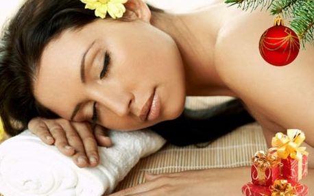 Vánoční 90 minutová aroma masáž zad, šíje a nohou, s využitím blahodárných účinků éterických olejů.