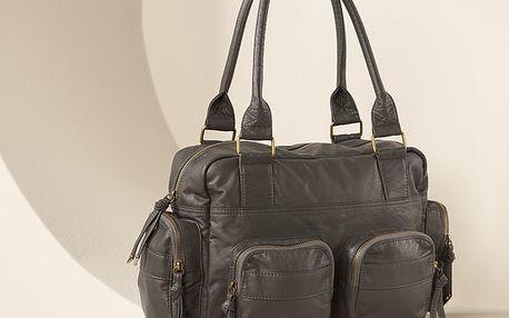Módní a prostorná kabelka. Kvalitní kožený vzhled. Originál z Tchibo.