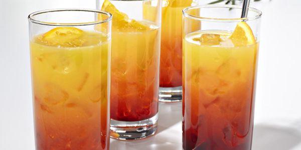 Sklenice na long drink s tlustým dnem, 4 ks. Okouzlete návštěvy! Originál z Tchibo.